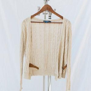 Ralph Lauren Cable Knit Cardigan - Italian Yarn